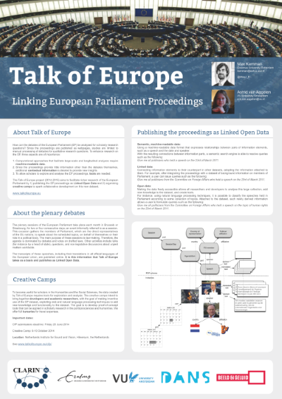 Poster Talk of Europe preview