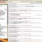 Figure 2. PoliMedia search interface